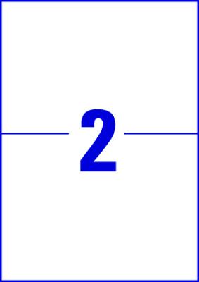 Transferové fólie AVERY pro potisk triček, 148,4 x 210 mm, 20 listů A4 - bílé - E3240